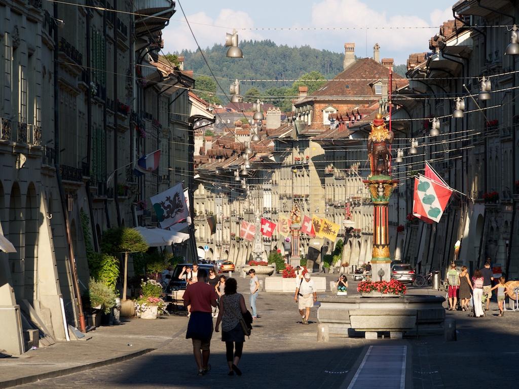 Schön ist es in der Berner Altstadt